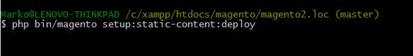 Magento static-content